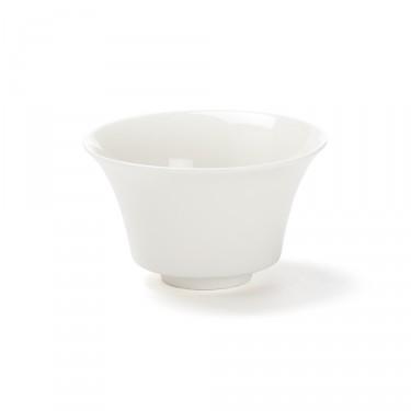 """""""Color"""", bol à thé blanc 12,5 cl porcelaine"""