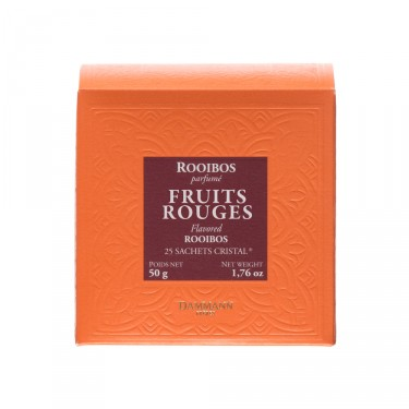 Rooibos Fruits Rouges, 25 sachets Cristal ®