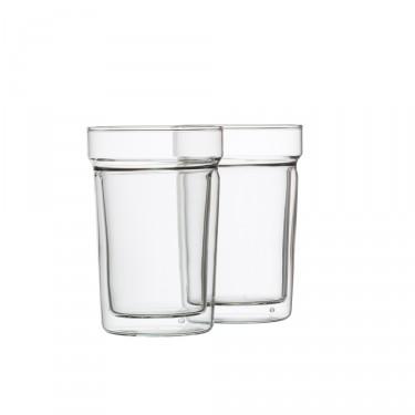 « Oasis », set de 2 verres à double paroi