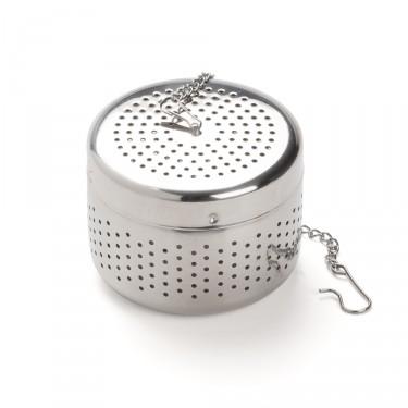 Boule à thé cylindrique inox