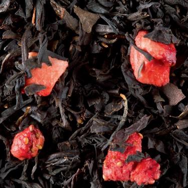 Thé Noir - Fraise Gariguette