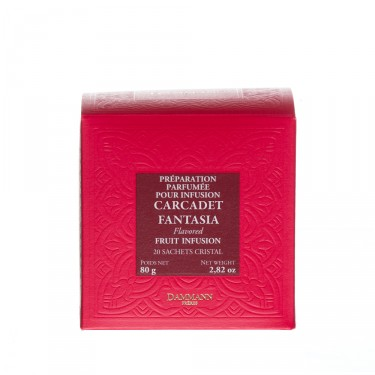 Fruit Infusion - Carcadet Fantasia, box of 20 Cristal® sachets