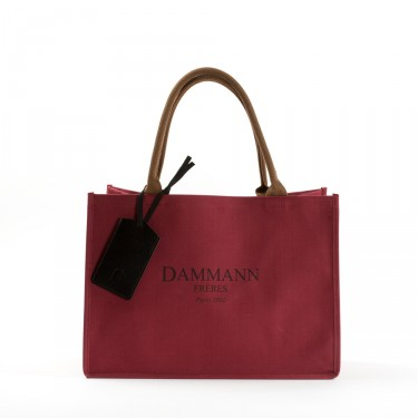 SHOPPING BAG DAMMANN - Rouge