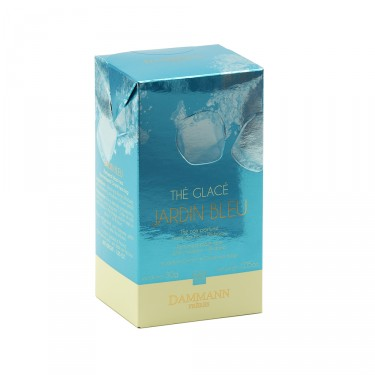 Jardin Bleu - Box of 6 sachets for iced tea infusion