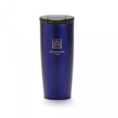 """NOMADE"", isothermal blue travel mug"