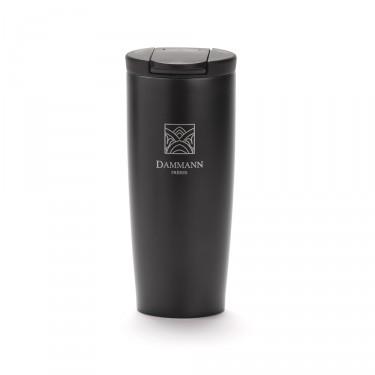 """NOMADE"", isothermal black travel mug"