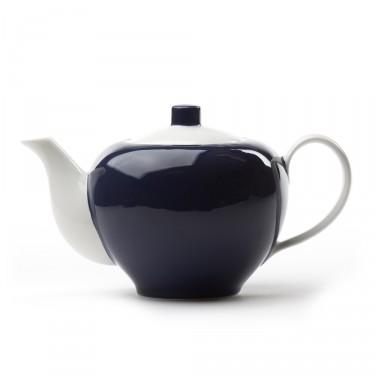Théière Porcelaine - Five O'clock 1L - Bleue