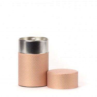 SHIKAKU, boîte à thé papier washi rose 100G