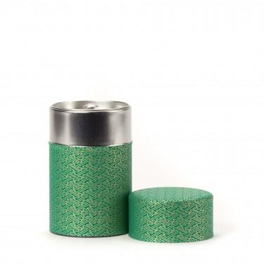 RIDO, boîte à thé papier washi vert 100G