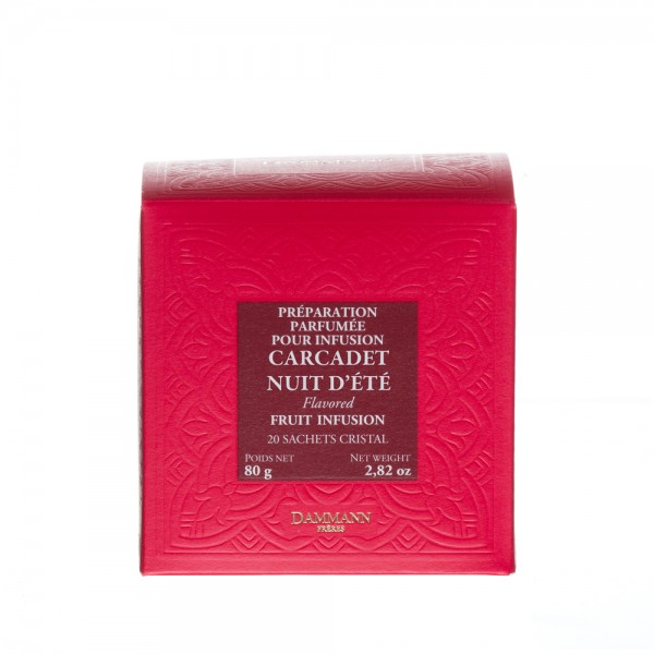 Fruit Infusion - 'Carcadet Nuit d'Eté', box of 20 Cristal® sachets